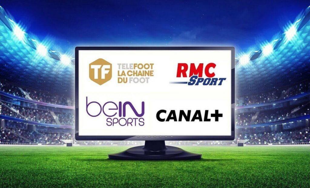 Chaines Foot sur PopCorn IPTV